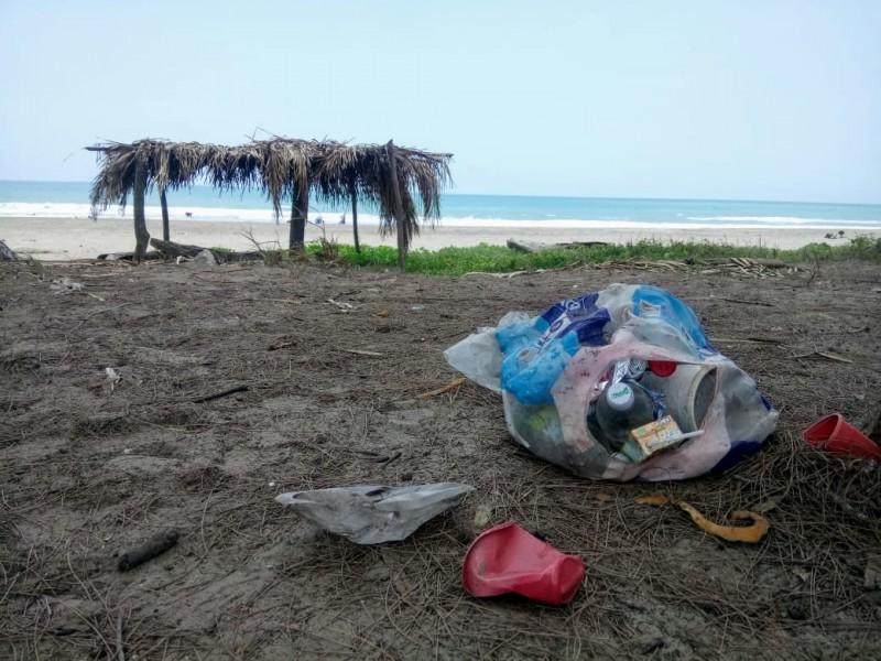 Plástico y vidrio,lo que más abunda en Villamar