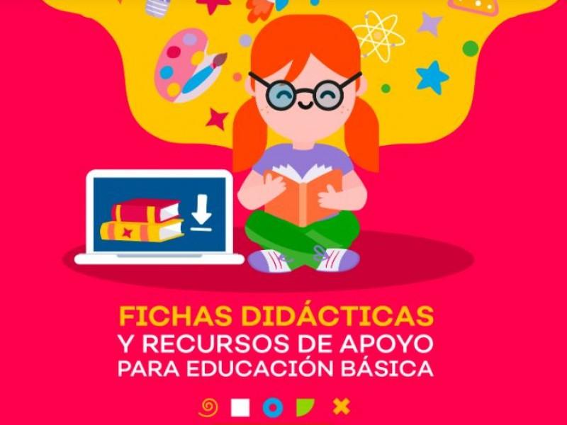 Plataforma y guías de estudio, listas para clases virtuales