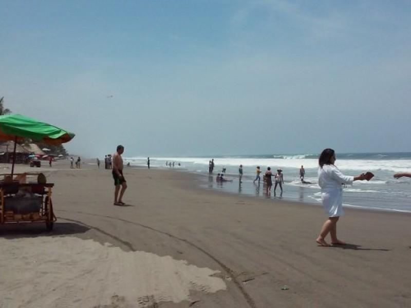 Playas de Chiapas con gran afluencia