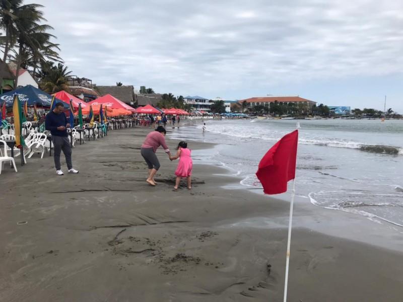 Playas de Veracruz cerradas por evento de norte