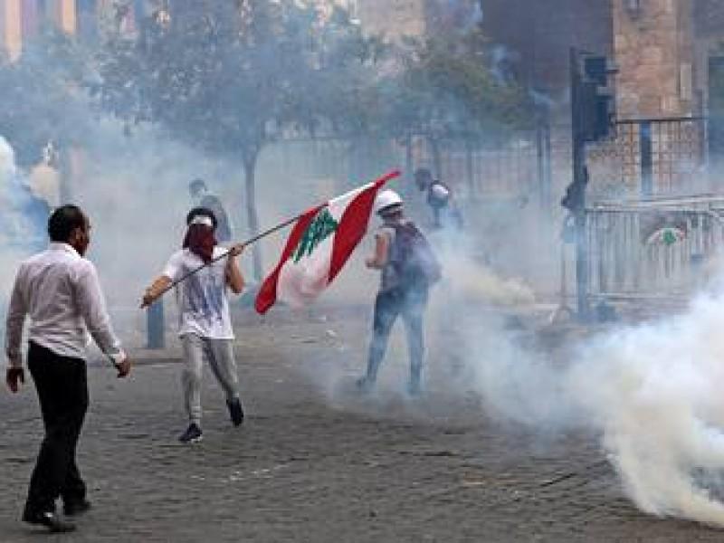 Población en Beirut, exige venganza contra clase política