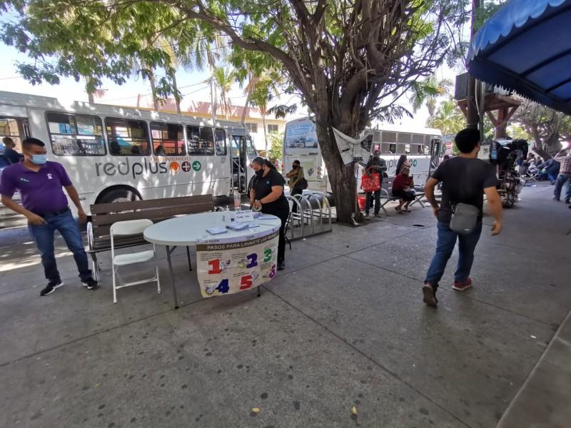 Población muestra indiferencia ante filtros sanitarios en la ciudad