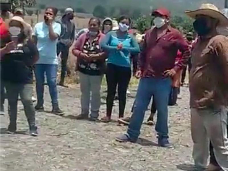 Pobladores en cuarentena exigen presencia de gobernador