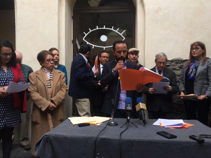 Poblanos demandan elecciones extraordinarias sin violencia