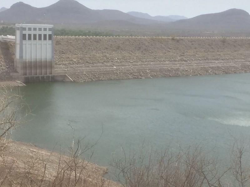 Poca captación en presas del Río Yaqui