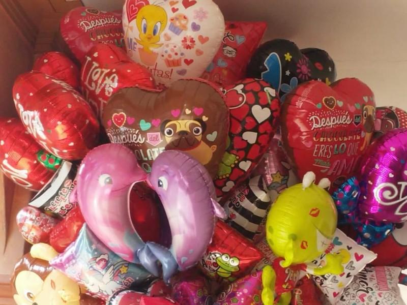 Pocos regalos en San Valentín