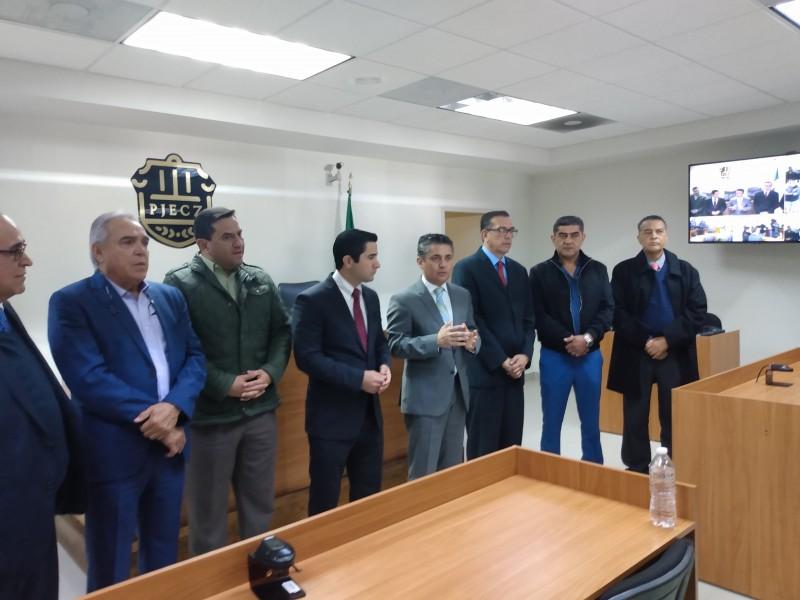 Poder Judicial de Coahuila permitirá mayor cobertura de audiencias penales