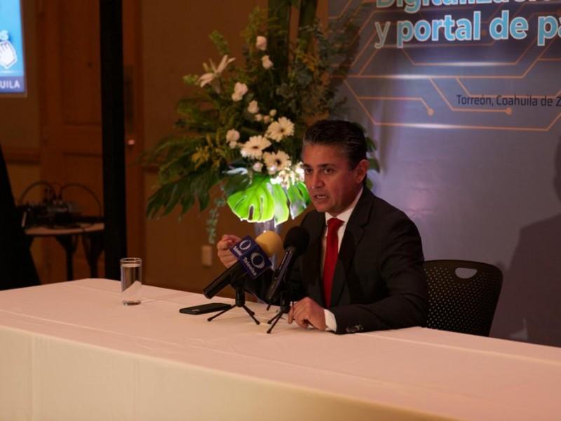 Poder Judicial de Coahuila presenta portal de pagos