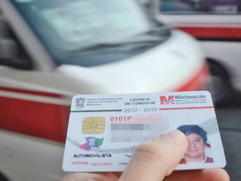 Podrás tramitar en marzo licencia permanente en Michoacán