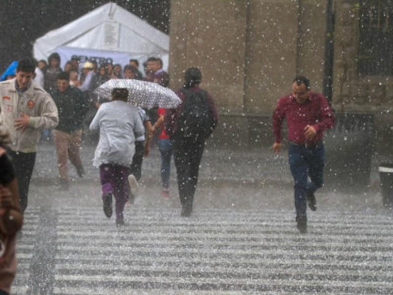 Podría llover esta tarde en la CDMX