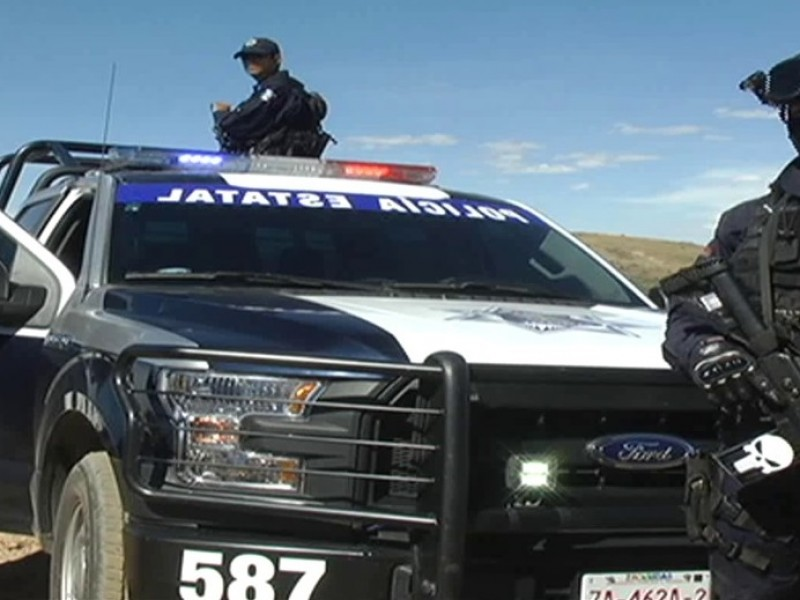 Policía Estatal investiga vehículo sospechoso en carretera a San Ramón