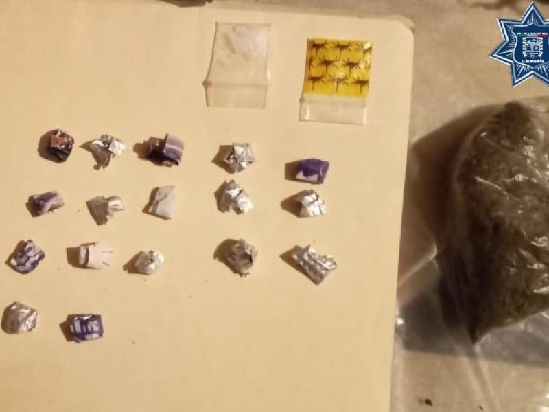 Policía evita distribución de drogas en Lindavista