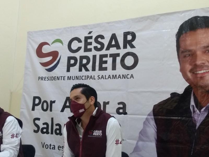 📹Policía municipal debe ser de proximidad, de barrio: César Prieto