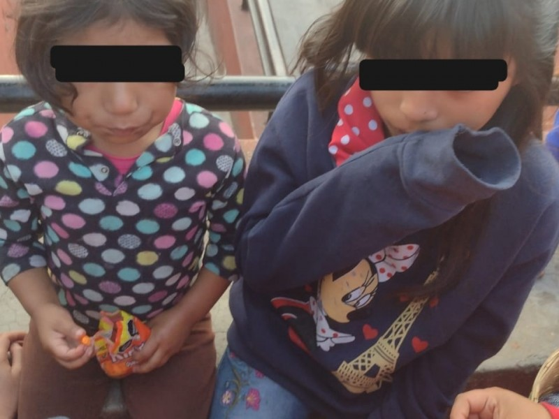 Policía Municipal rescata a menores extraviados