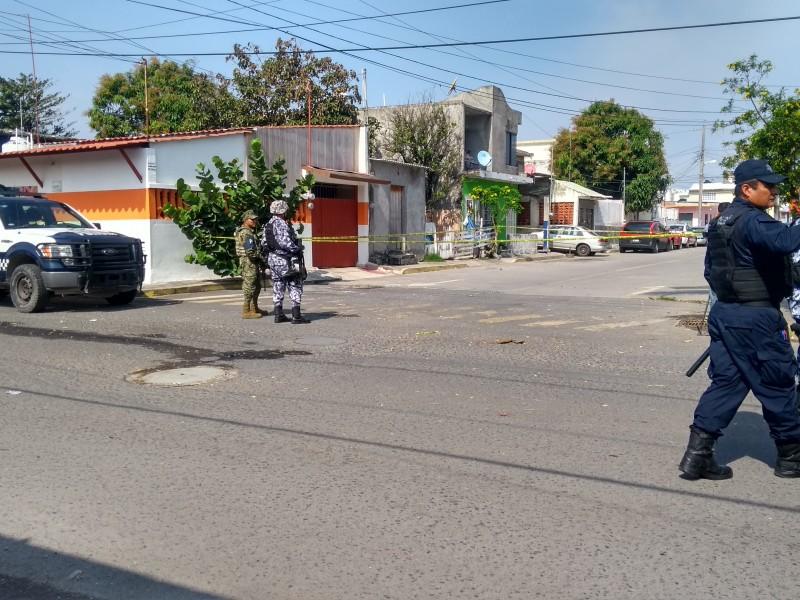 Policía Naval asegura armamento en colonia López Mateos
