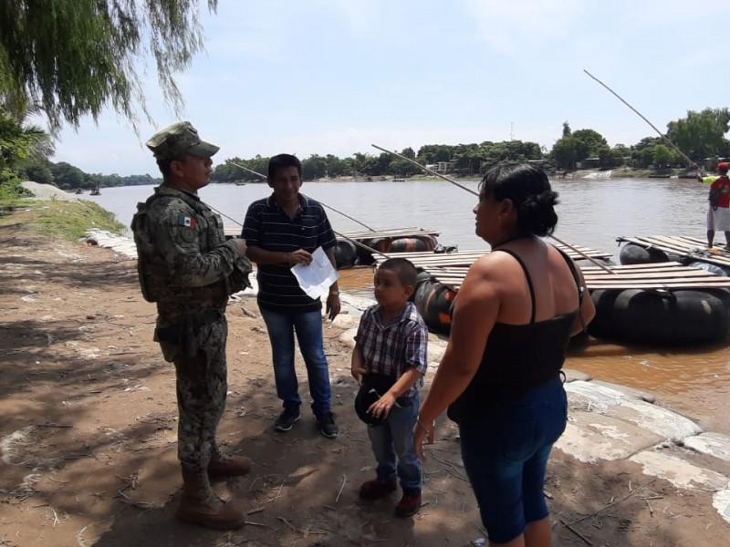Policía Naval contribuye en operativos en Chiapas