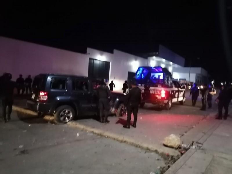 Policía responden a agresión armada en San Cristóbal