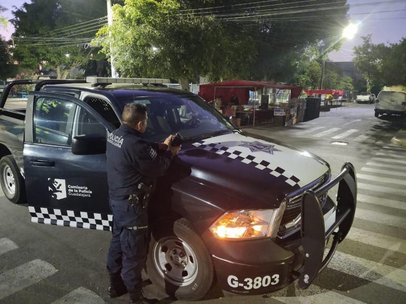 Policía tapatía mantiene perifoneo preventivo