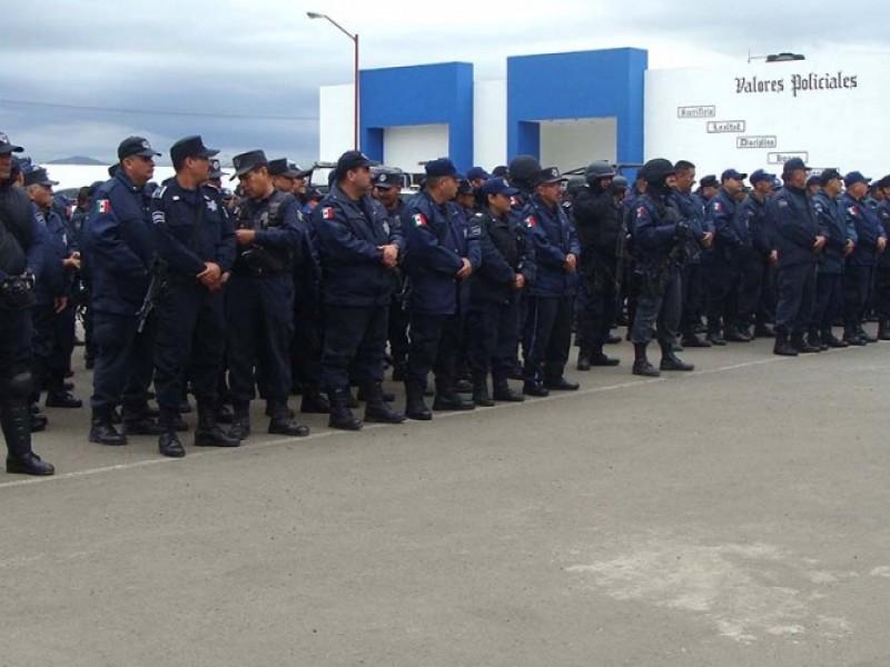 Policías de Tepic se irán a paro el próximo martes