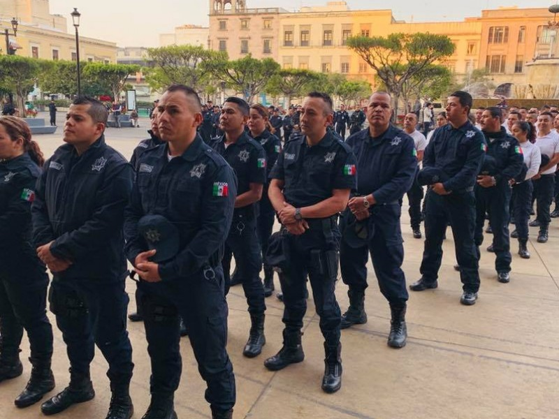 Policías del AMG tienen menos elementos que recomendados por ONU