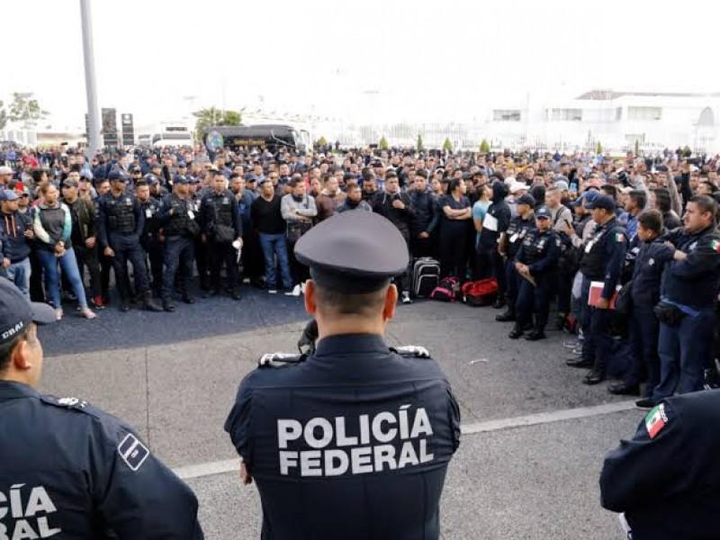 Policías federales esperan alcanzar acuerdo el lunes