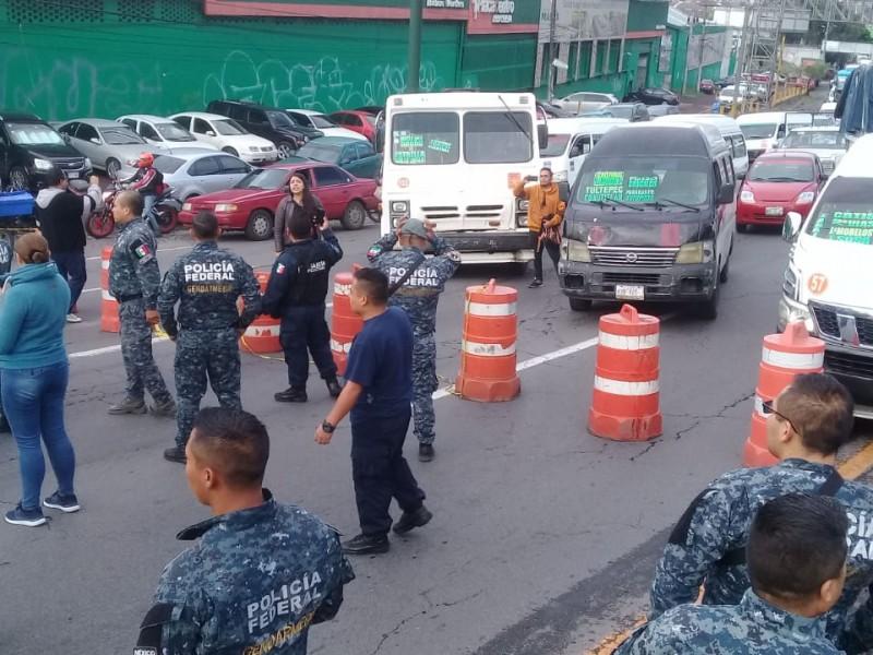 Policías Federales se amotinan y llaman a paro