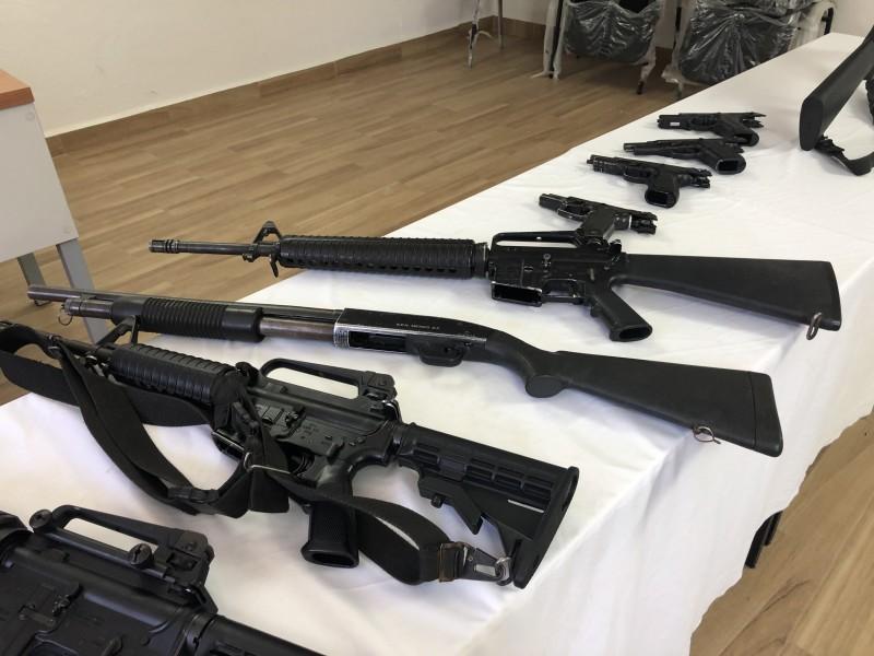 Policías se capacitan constantemente en uso de armamento