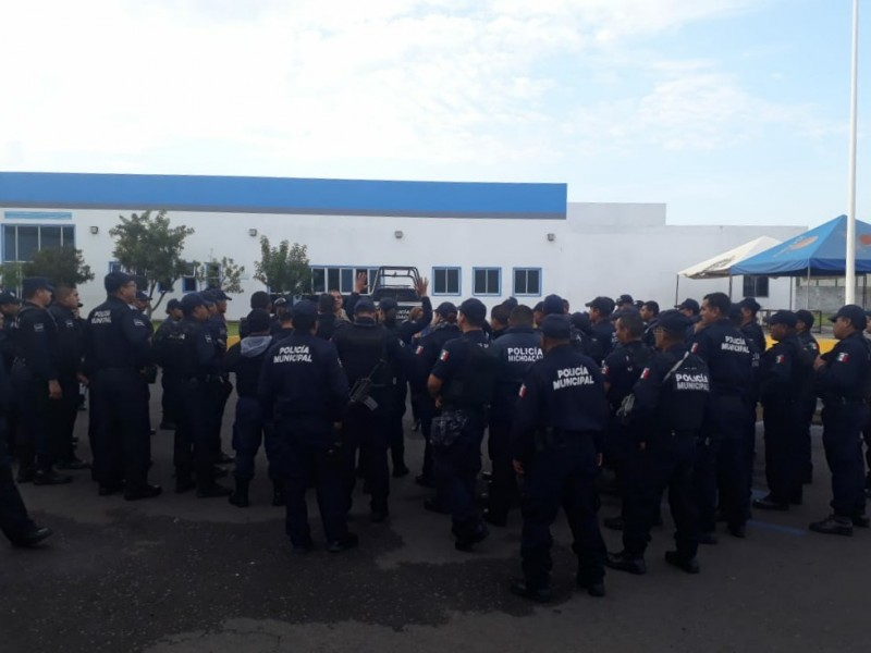 Policías zamoranos temen por su seguridad