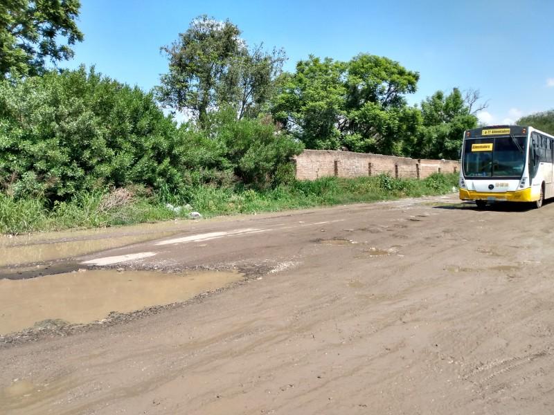Polígonos de desarrollo reciben poca inversión para pavimentacion de calles