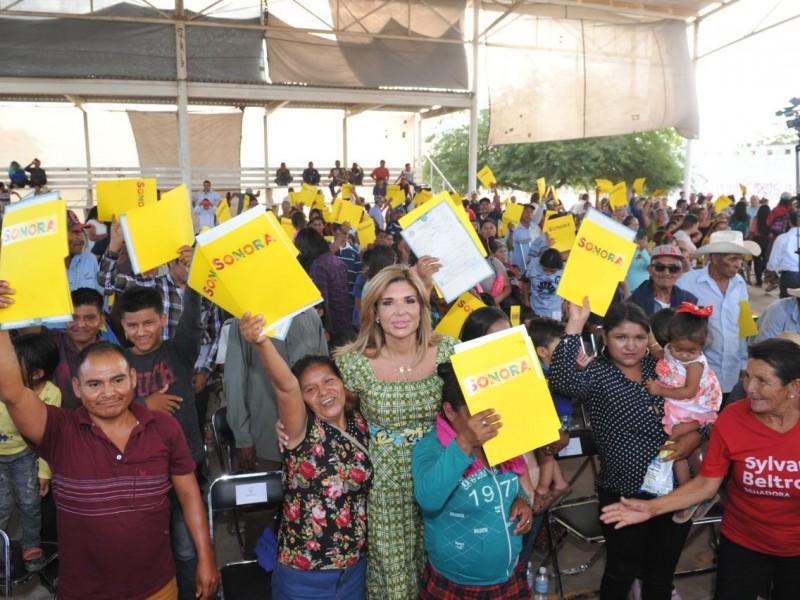 """*Pone en marcha Gobernadora programa """"Identidad Sonora"""
