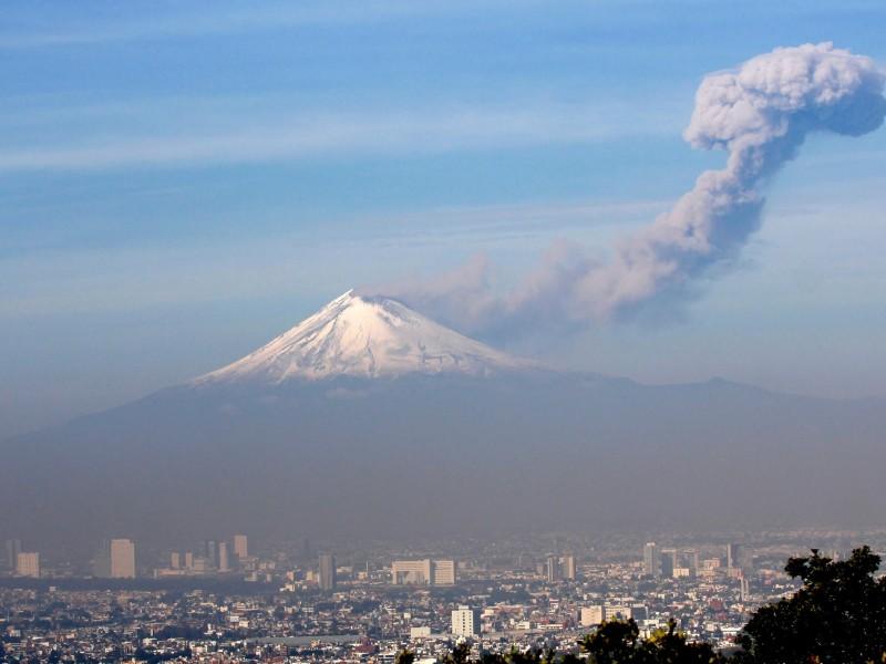Popocatépetl presenta 172 exhalaciones