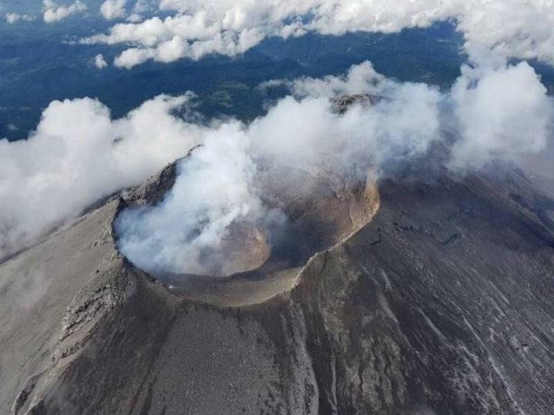 Popocatépetl registra 49 exhalaciones y cinco explosiones
