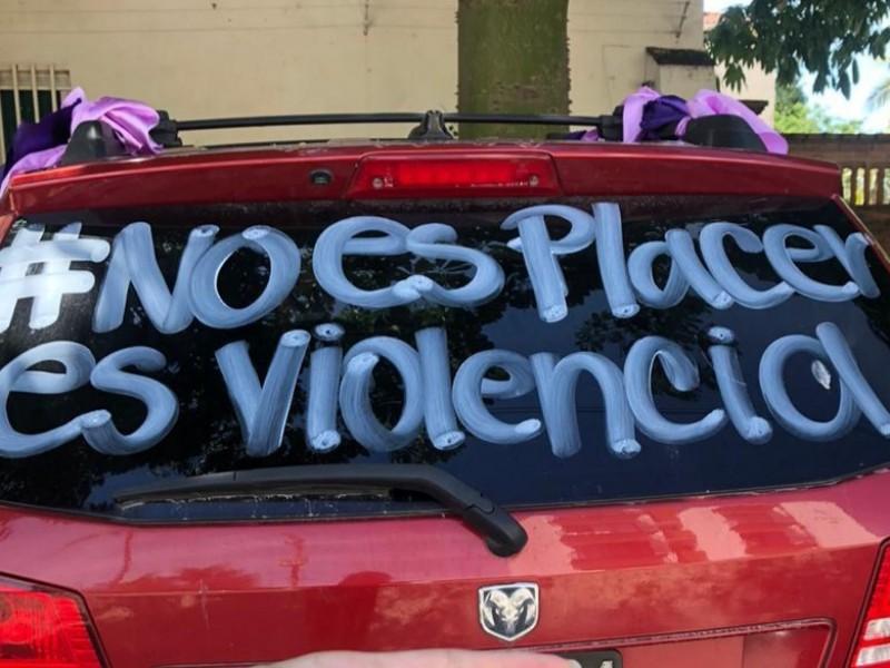 Por abuso sexual infantil  se manifiestan en Puerto Vallarta