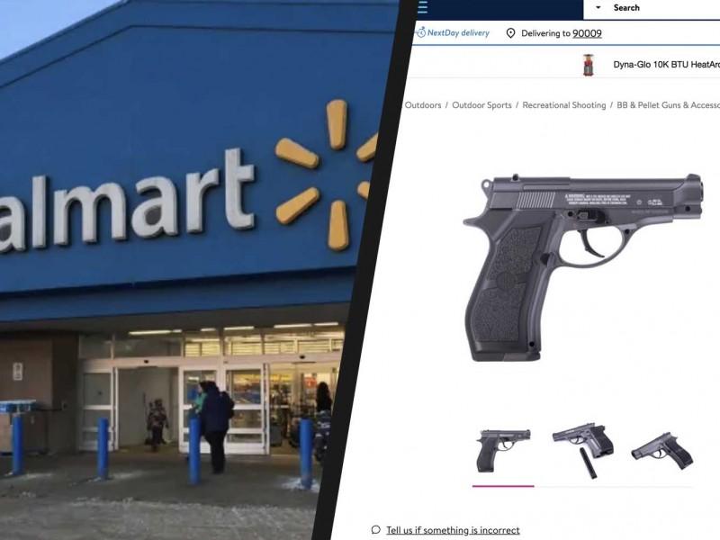Por agitaciones civiles, Walmart retira armas y municiones de estantes