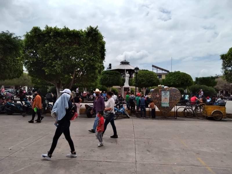 Por alta movilidad de personas, refuerzan filtros sanitarios en Yurécuaro