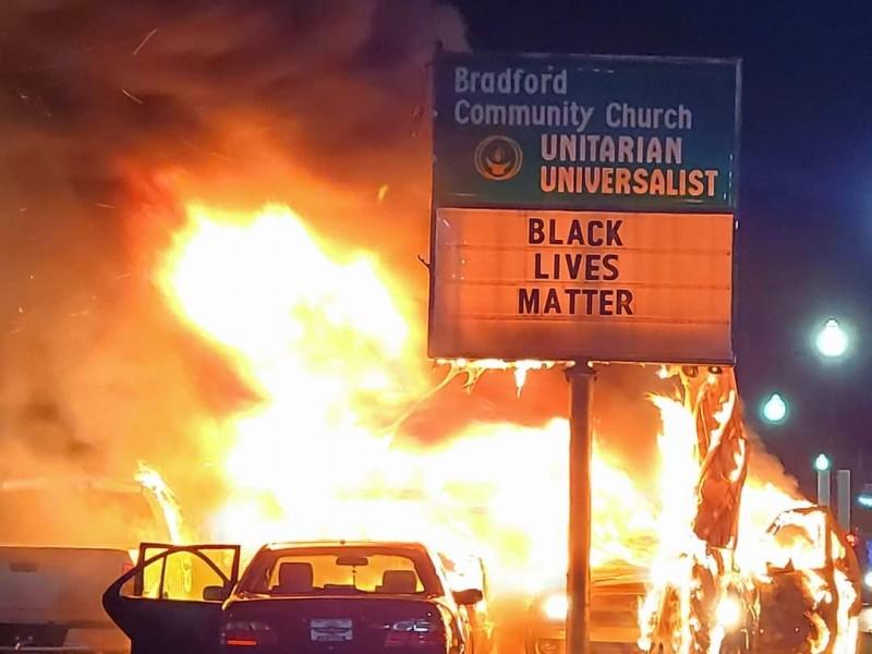Por asesinato de Jacob Blake, disturbios y saqueos en Wisconsin