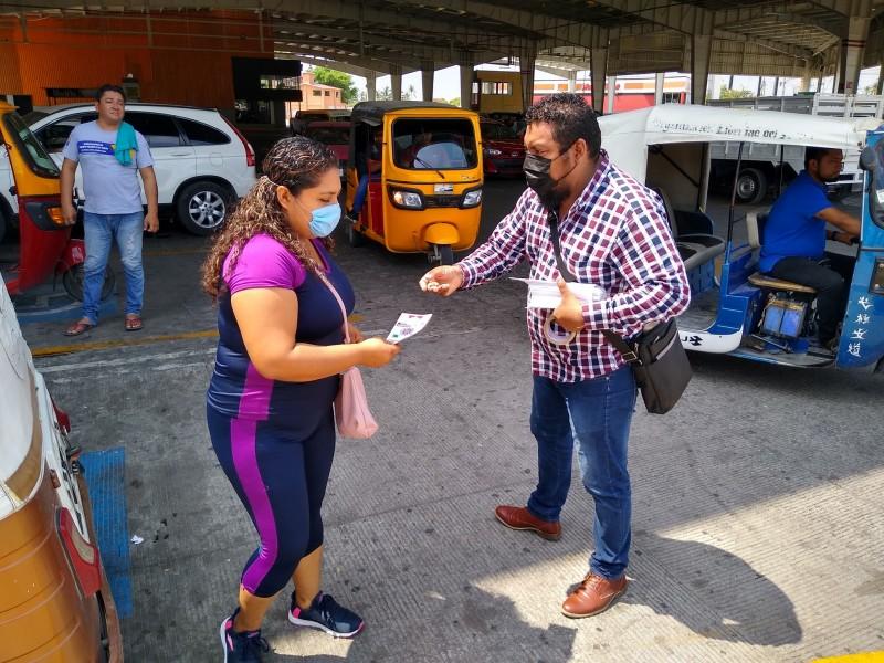 Por aumento de contagios pasan a semáforo amarillo en Juchitán