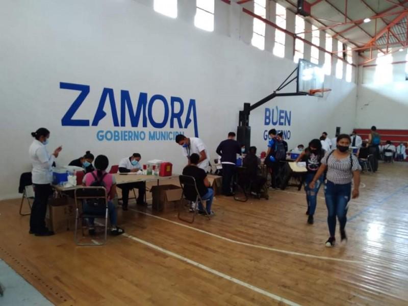 Por concluir vacunación antiCOVID a mayores de 18 en Zamora