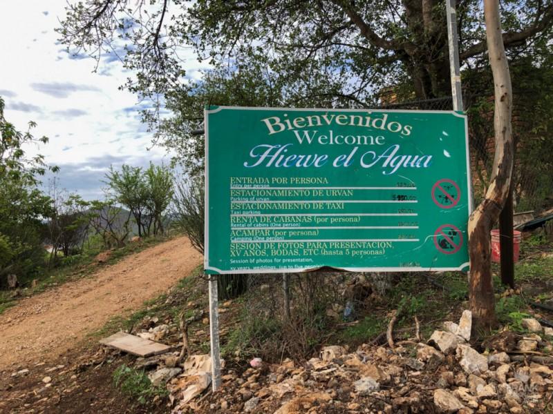 Por conflicto territorial, cierran accesos a Hierve El Agua