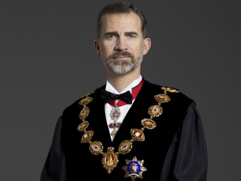 Por contacto Covid-19, en cuarentena rey de España Felipe VI