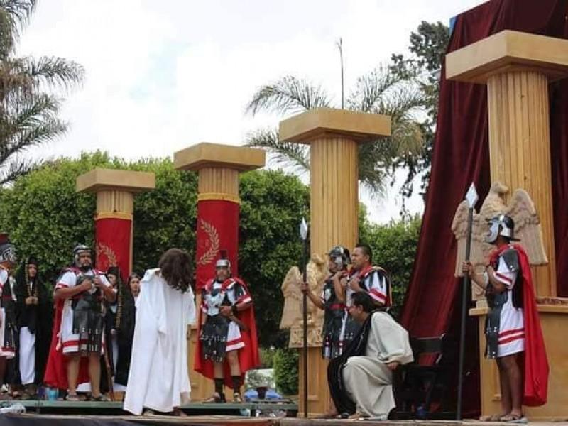 Por contingencia, cancelan obra Rey de Reyes en Amozoc