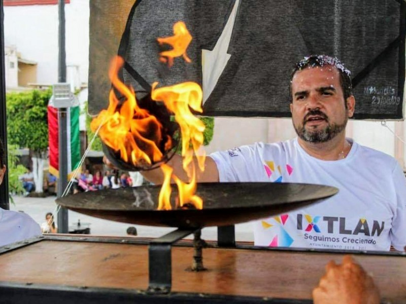 Por contingencia sanitaria, suspenden traslado del fuego patrio a Ixtlán