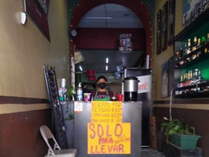 Por COVID-19, restaurantes zamoranos se suman a cuarentena