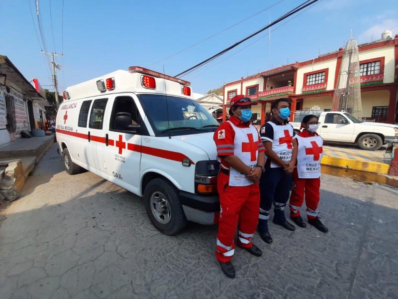 Por crisis financiera Cruz Roja Tehuantepec reduce servicios prestados
