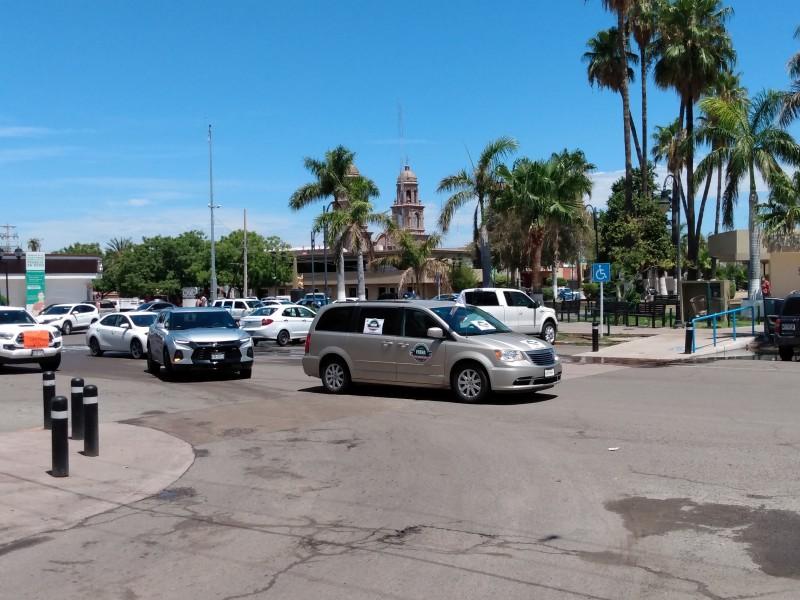 Por cuarta vez, realizan Caravana Anti AMLO en Navojoa