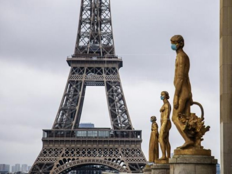 Por cuarto día consecutivo, Francia registra récord diario Covid-19