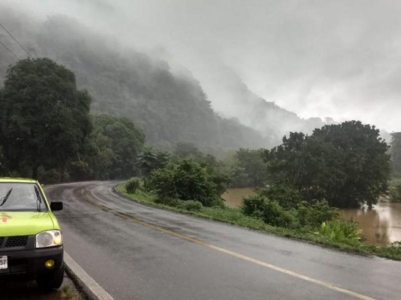Por desbordamiento de ríos ante lluvias, solicitarán declaratoria de emergencia