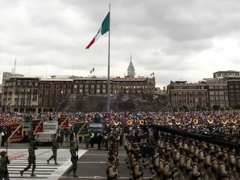 Por desfile militar, este lunes cerrarán vialidades