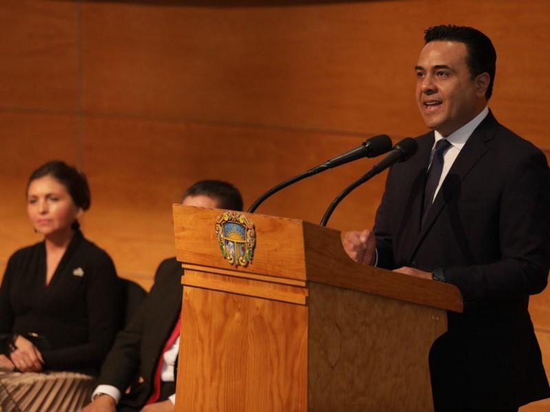 Por el momento no piensa alcalde en reelección