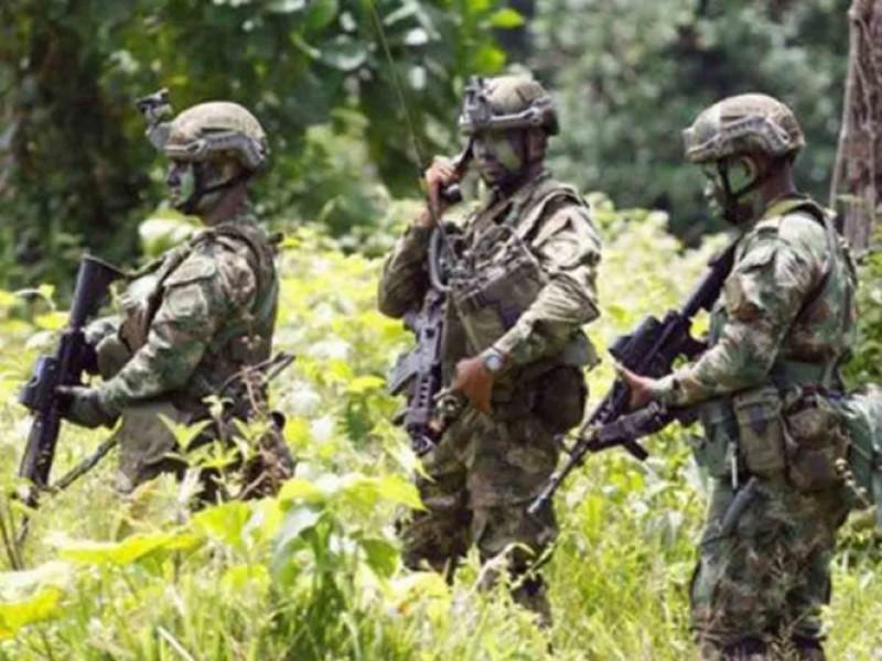 Por emboscada, mueren 4 soldados de Colombia